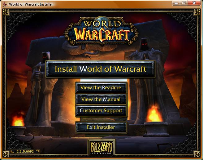 Скачать World of Warcraft + The Burning Crusade + патч 2.4.3 (Офиц. рус.) б